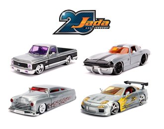 1:24 Jada 20th Anniversary - Wave 2 (Set of 4)
