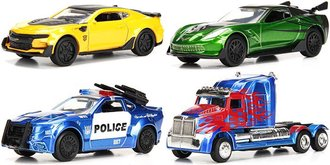 1:64 Transformers 5: The Last Knight (Set of 4)