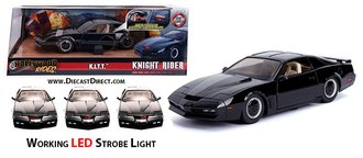 1:24 Knight Rider™ K.I.T.T. w/Working LED Strobe Light