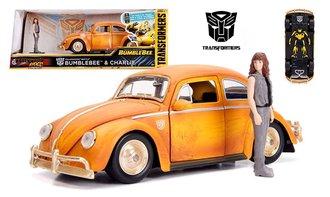 1:24 Transformers - VW Beetle Bumblebee w/Charlie Figure