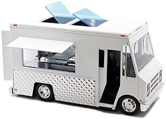 1:24 Food Truck (White - Undecorated)