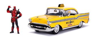 1:24 Hollywood Rides - Deadpool Taxi w/Deadpool Figure