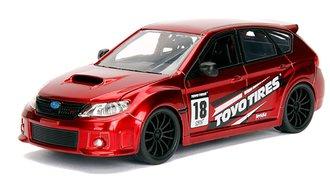 1:24 JDM Tuners - 2012 Subaru WRX STI (Red)