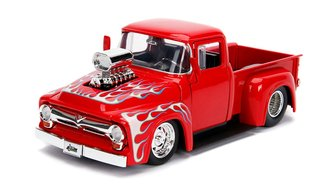 1:24 Just Trucks - 1956 Ford F-100 (Glossy Red)