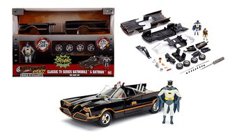 1:24 Build 'N Collect - 1966 Classic TV Series Batmobile w/Batman & Robin