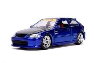 1:24 JDM - 1997 Honda Civic EK Type R (Candy Blue)