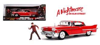 1:24 A Nightmare on Elm Street 1958 Cadillac Series 62 w/Freddy Krueger