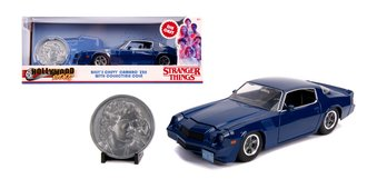 1:24 Stranger Things Billy's Chevy Camaro Z28 w/Coin