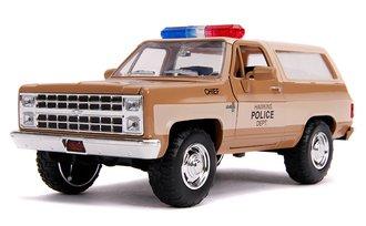1:24 Stranger Things Hopper's Chevy Blazer w/Police Badge
