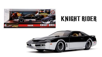 1:24 Knight Rider™ K.A.R.R. w/Working LED Strobe Light
