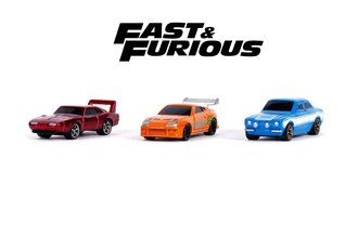 "Nano Hollywood Rides - 1.65"" Fast & Furious (3-Pack)"