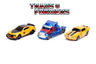 "Nano Hollywood Rides - 1.65"" Transformers (3-Pack)"