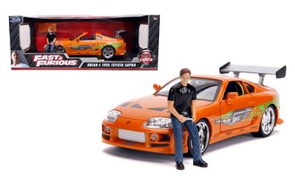 1:18 The Fast and the Furious - 1995 Toyota Supra w/Brian Figure