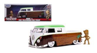 1:24 1963 VW Bus Pickup w/Groot Figure