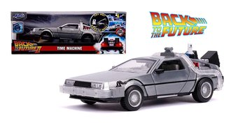 1:24 Hollywood Rides - Back To The Future Part II Time Machine w/Lights
