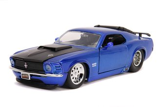 1:24 BTM - 1970 Ford Mustang Boss 429 (Candy Blue)