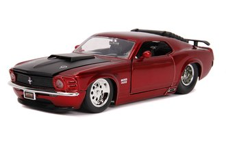 1:24 BTM - 1970 Ford Mustang Boss 429 (Candy Red)