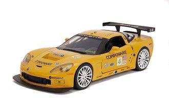 1:24 BTM - 2005 Corvette C6R (Yellow)