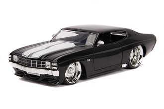 1:24 BTM - 1971 Chevy Chevelle SS (Glossy Black)