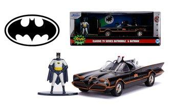 """5"""" Batman™ 1966 Classic TV Batmobile™ w/Batman Figure"""