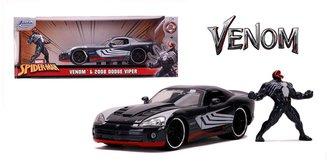 1:24 Spiderman - 2008 Dodge Viper SRT10 w/Venom Figure