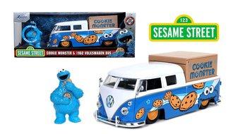 1:24 Sesame Street - 1963 VW Bus w/Cookie Monster