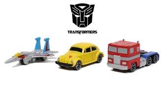 "Nano Hollywood Rides - 1.65"" G1 Transformers (3-Pack)"