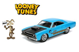 1:24 Looney Tunes - Plymouth Roadrunner w/Wile E. Coyote Figure