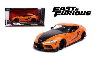 "1:24 F&F - Han's 2020 Toyota Supra (Orange) ""Fast & Furious 9 - The Fast Saga"""