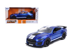 2020 Ford Mustang Shelby GT500 (Candy Blue w/White Stripes)