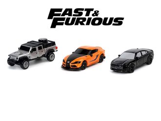 "Nano Hollywood Rides - 1.65"" Fast & Furious 9 (3-Pack)"