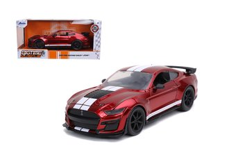 2020 Ford Mustang Shelby GT500 (Candy Red w/White Stripes)