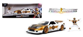1:24 Power Rangers - 2002 Honda NSX w/White Ranger Figure