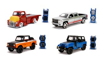 1:24 Just Trucks - Wave 23 (Set of 4)
