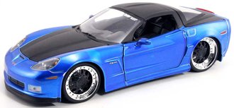 1:24 2006 Corvette Z06 (Blue) w/2-Tone Atomic Rims
