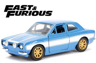 1:32 Fast & Furious - Brian's Ford Escort (Blue)