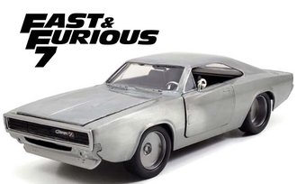 "1:24 F&F - Dom's Dodge Charger R/T (Bare Metal) ""Furious 7 (2015)"""