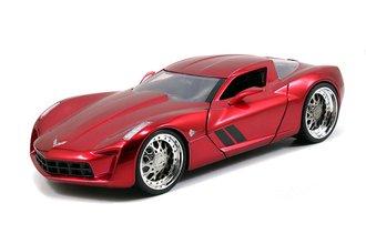 1:24 BTM - 2009 Corvette Stingray Concept (Candy Red)