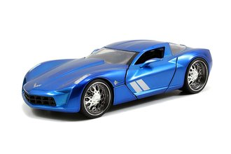 1:24 BTM - 2009 Corvette Stingray Concept (Candy Blue)