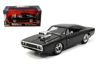 1:24 Fast & Furious - Dom's 1970 Dodge Charger R/T (Black)
