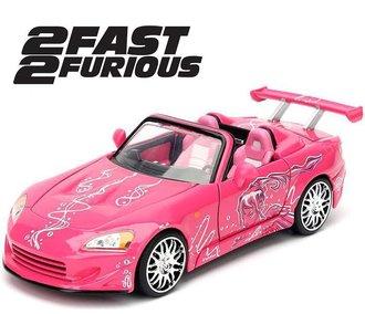 """1:32 F&F - Suki's Honda S2000 (Pink) """"2 Fast 2 Furious (2003)"""""""