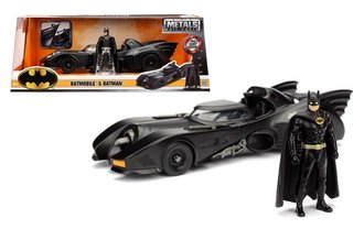 1:24 Batman™ Batmobile™ - 1989 Batman w/Batman Figure