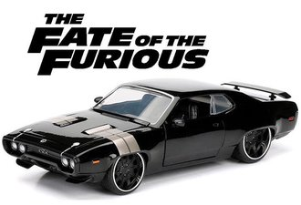 """1:24 Fast & Furious 8 - Dom's Plymouth GTX """"The Fate of the Furious (2017)"""""""