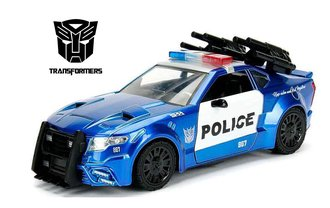 1:24 Transformers 5 - Ford Mustang Barricade Police Car