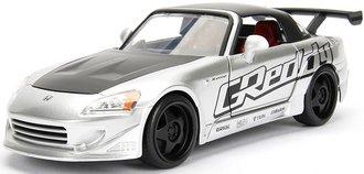1:24 JDM Tuners - 2001 Honda S2000 Hardtop (Silver)