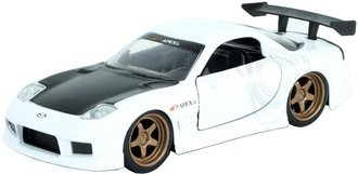 1:32 JDM Tuners - 1993 Mazda RX-7 (White)