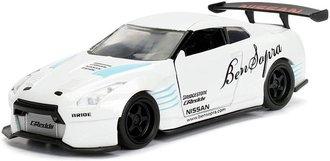 1:32 JDM Tuners - 2009 Nissan GT-R (R35) Ben Sopra (Pearl White)