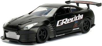 1:32 JDM Tuners - 2009 Nissan GT-R (R35) Ben Sopra (Primer Black)