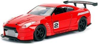 1:32 JDM Tuners - 2009 Nissan GT-R (R35) Ben Sopra (Glossy Red)