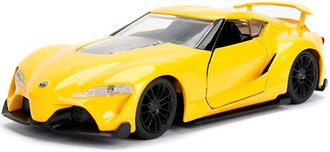 1:32 JDM Tuners - Toyota FT-1 Concept (Yellow)